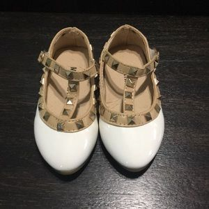 Other - White make believe designer shoes lol